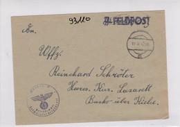 GG: SS-Feldpost, Pferde-Lazarett Der Waffen-SS, Radom - Besetzungen 1938-45