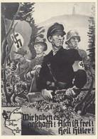 Propagandakarte: Asch Ist Frei - Deutschland