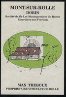 Mont-sur-Rolle, Société De Tir Essertines-sur-Yverdon, Vaud, Suisse - Etiquettes