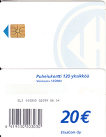 FINLAND - Elisa Telecard 20 Euro(for Use Only In Prison), CN : ELI 000303, Tirage 10000, 04/04, Used - Finland