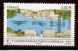 France PA  75 1ère Liaison Postale Nancy Lunéville  Neuf ** TB MNH Sin Charnela Faciale 3 - Luftpost
