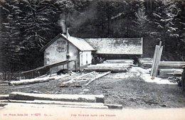 Une Scierie Dans Les Vosges - France