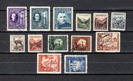 Eslovaquia   1939-43  .-  Y&T  Nº   36/37-38-39/44-45A-51/53 - Eslovaquia