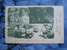 Q112 CARTOLINA PIEDIMONTE D'ALIFE BENEVENTO   VIAGGIATA 1905 - Benevento