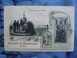 Q117 CARTOLINA AVELLINO   VIAGGIATA SANTUARIO MONTEVERGINE - Avellino