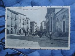 Q120 CARTOLINA CASERTA   VIAGGIATA 1917 - Caserta