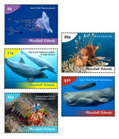 Marshall Islands   2019  Fauna  Marine Life  Fish , Whale  I201901 - Marshall Islands