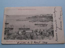 Souvenir De CONSTANTINOPLE Vue Panoramique De La Pointe Du Sérai ( A. Zellich ) Anno 1900 ( See / Voir Photo Svp ) ! - Turquie