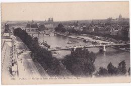 145 Paris. - Vue Sur La Seine Prise Du Pont De Flore. -- LL. - Frankrijk
