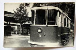 CP Photo Tramway N°12  De Colmar Collection Schnabel - Tramways