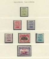 OC N°55/105 - 3 Séries Occupation EUPEN Et MALMEDY Y/c Taxe, X. Le 35 Centimes Malmédy (OC 71) En Dentelure 15. COB. 600 - [OC55/105] Eupen/Malmedy