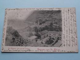 St. Helena Van Af De Rotsen > Souvenir De ...( M. A. Frank ) Anno 1902 ( See / Voir Photo Svp ) ! - Sainte-Hélène