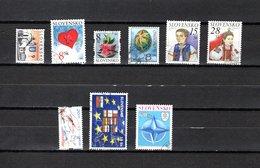 Eslovaquia   2004  .-  Y&T  Nº   409-410-411-413-114/415-416-417-418 - Usados