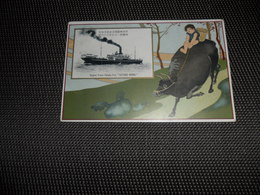 "Bateau ( 73 )  Boot   Schip  Navire  Paquebot  :  S.S.  ""  Katori Maru  ""    Nippon Yusen Kaisha - Steamers"