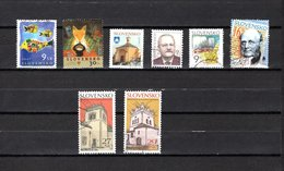 Eslovaquia   2005-2006  .-  Y&T  Nº   447-448-449-450-455-457-463/464 - Usados