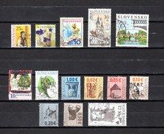Eslovaquia   2006-2008  .-  Y&T  Nº   467-478-483-484-490-495-507-521/526-539 - Usados