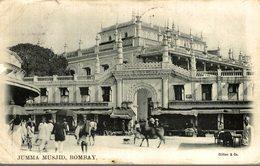 JUMMA MUSJID BOMBAY INDIEN INDIA INDE - India