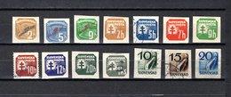 Eslovaquia   1939-43  .-  Y&T  Nº   1/2-4-10/16-18-28/30     Journaux - Eslovaquia