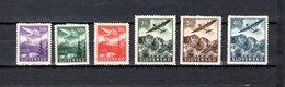 Eslovaquia   1940  .-  Y&T  Nº   1/6   Aéreos - Eslovaquia