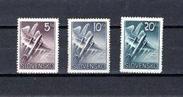 Eslovaquia   1940  .-  Y&T  Nº   7/9   Aéreos - Eslovaquia