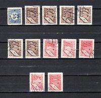 Eslovaquia   1939-44  .-  Y&T  Nº   1-26/31-34/36-39-40     Taxa - Eslovaquia