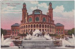 24. - Paris. - Le Trocadéro - The Trocadero  - (1923) - Andere Monumenten, Gebouwen