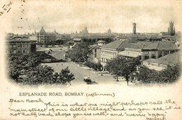 ESPLANADE ROAD BOMBAY.  INDIEN INDIA INDE - India