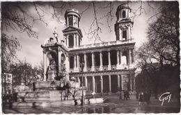 3.165 - Paris Et Ses Merveilles. - La Place Et église Saint-Sulpice  - (1955) - Kerken