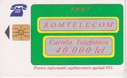#09 - ROMANIA-25 - ROM TELECOM - 40.000 LEI - Romania