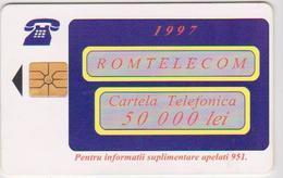 #09 - ROMANIA-26 - ROM TELECOM - 50.000 LEI - Romania