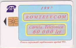 #09 - ROMANIA-27 - ROM TELECOM - 60.000 LEI - Romania