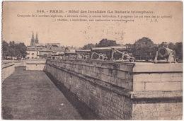 246. - Paris. - Hotel Des Invalides (La Batterie Triomphale,2 Mortiers Algériens,2 Obusiers Russes,2 Canons Hollandais) - Andere Monumenten, Gebouwen