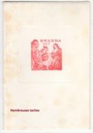 "Rwanda. 1977. ""Tiré à Part"" Du N° 850 Par Campo-Rodan (nombreuses Taches) - Rwanda"
