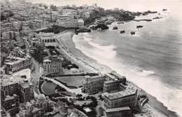 BIARRITZ  Vue Aerienne Hotel Du PALAIS Grande Plage Et Casino 10(scan Recto-verso) MA613 - Biarritz