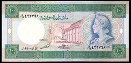 Syria 100 Pounds 1990 UNC - Siria