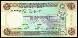 Syria 50 Pounds 1991 UNC - Siria