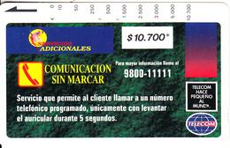 COLOMBIA(Tamura) - Comunicacion Sin Marcar 2($10700), Used - Colombia