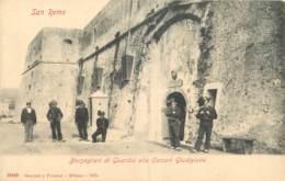 ITALIA -  SAN REMO - BERSAGLIERI DI GUARDIA ALLE CARCERI GIUDIZIARIE - San Remo