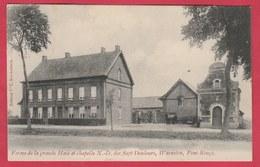 Warneton - Ferme De La Grande Haie Et Chapelle N-D Des Sept Douleurs  -1912 ( Voir Verso ) - Comines-Warneton - Komen-Waasten