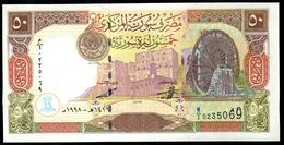 Syria 50 Pounds 1998 AUNC - Siria