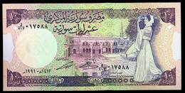 Syria 10 Pounds 1991 UNC - Siria