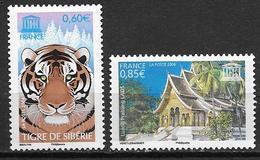 France 2006 Service N° 134/135 Neufs UNESCO à La Faciale - Service