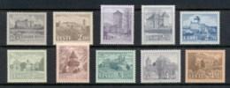 Estonia 1993-97 Castles - Estonia