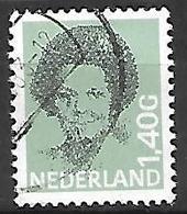 PAYS - BAS       -    1991 .   Y&T  N° 1380E Oblitéré  . - 1980-... (Beatrix)