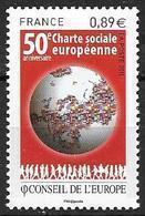 France 2011 Service N° 150 Neuf Conseil De L'Europe à La Faciale - Service
