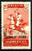 Cabo Juby Nº 78 En Usado - Cabo Juby
