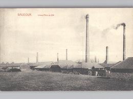 BAUDOUR Usine Pêtre Et Cie Env. 1908 Ed. Marcovici - Saint-Ghislain