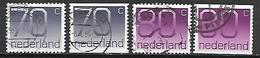 PAYS - BAS       -    1991 .   Y&T  N° 1380A & 1380B Oblitérés  . - 1980-... (Beatrix)