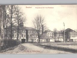 BAUDOUR Usine Propriété F. De Fuisseaux Env. 1908 Ed. Marcovici - Saint-Ghislain