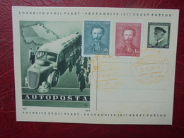 AUTOPOSTA 30-6-1938 - Covers & Documents